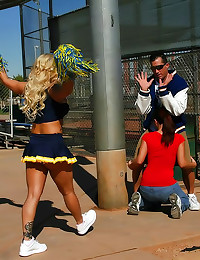 Shyla Stylez as slutty cheerleader
