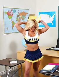 Shyla Stylez as slutty cheerleader