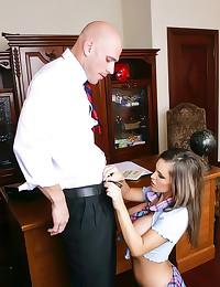Huge titty schoolgirl sex