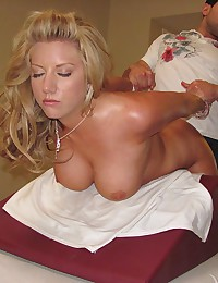 Heather Summers Oiled Then Drilled Hard