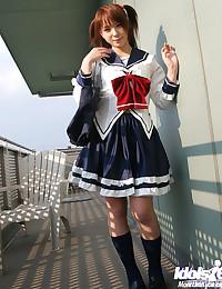 Hot Schoolgirl Takes Off Her Uniform