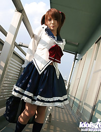 Hot Schoolgirl Takes Off Her Uniform