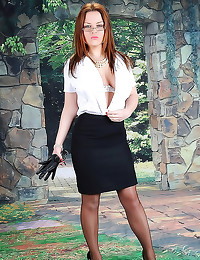 This strict milf is hot