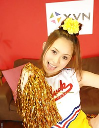 Japanese cheerleader hardcore