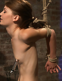 Skinny Teen Tied And Played