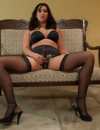 Hot women abuse a submissive