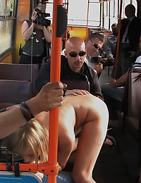 Fucked hard on a bus