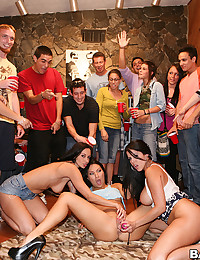 Horny College Babes Enjoy Sex Party