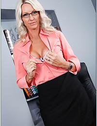 Office Boss Emma With Attitude