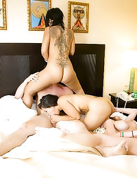 Teen sex party in bedroom