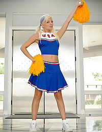 Pigtailed Cheerleader Kelly