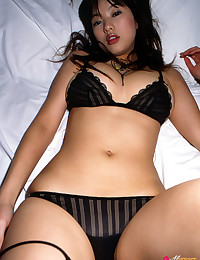 Doe Eyed Asian Minx Gets Naughty