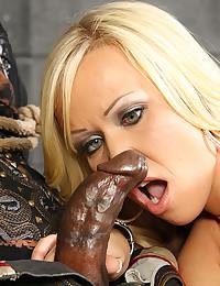 Black cock queen fucked lustily
