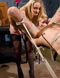 Dominatrix Fucks Her Submissive Man