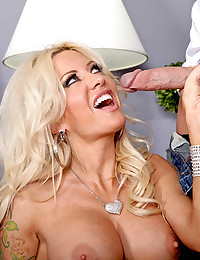 Monster Cock For Pornstar Pussy