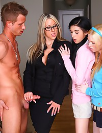 Two Naughty Babes Team Up