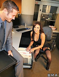 This is an instructional video on how to have sex in your work place. It goes through all what to do. On what the girl should be wearing, how to lure the man, where to have sex, and other tips as well. Once you go through all the instructions the couple a