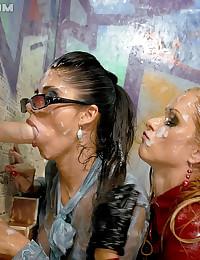 Two drunk hotties