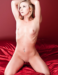 Ericka strips and shows off her smoking-hot body today.