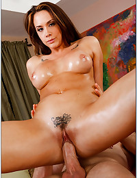 Pretty Chanel Gets Oiled Then Ravaged