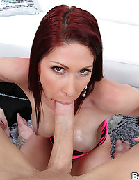 Busty Milf Gets Oiled Then Pumped