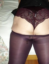 Cum on Nylon