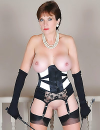 Corset milf with dominate you