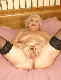 cum in grannys mouth