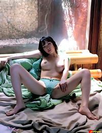 Perky natural tit Asian girl