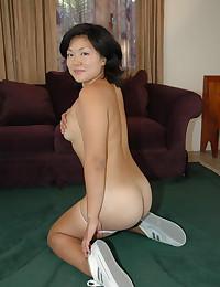 Curvy Asian fuck and facial group sex