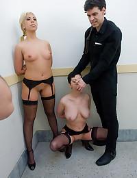 Punishment for two sluts