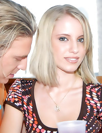 A flawless young blonde fucked