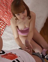 Sweet teen gets a lavish creampie after hot sex
