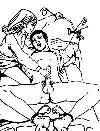 lesbian femdom hentai