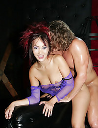Sick Asian Bitch Enjoying This Dick
