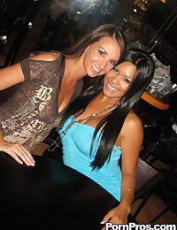 Bar Babes Enjoy Drunken Sex