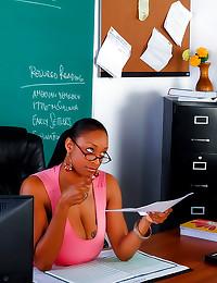 Black teacher nailed in hot p...