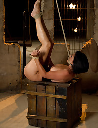 Fun shock play and bondage