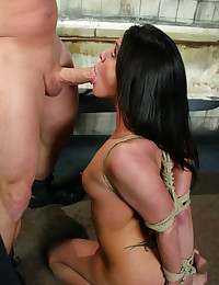 Classic SexandSubmission shoot from achives, Savannah Stern and Brandon Iron.