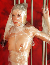 Full plastic wrap on blonde