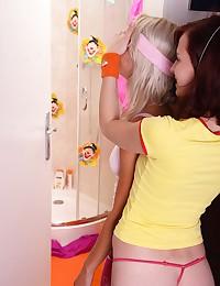 Adorable lesbians