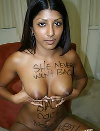 Hot Indian Babe Enjoys Black Dick