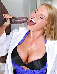 Horny Doctor Krissy Gets Drilled Deep