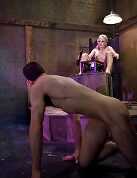 CBT for submissive boy