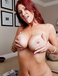 Horny redhead loves anal sex