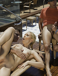 Horny Couple Enjoy Fucking On Boat