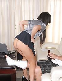 Sexed up milf loves dick