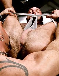 Muscular big cock men fuck