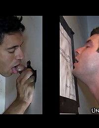 Hot gay blowjobs given to straight men