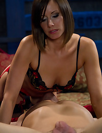 Gorgeous Milf Pleasures Her Man
